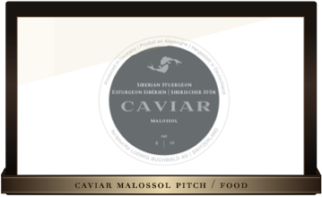 Caviar Malossol / pitch
