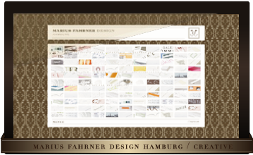 MARIUS FAHRNER DESIGN HAMBURG | COMMUNICATION | DESIGN