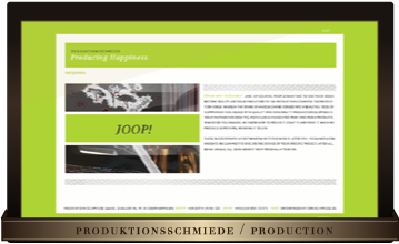 Produktionsschmiede | production